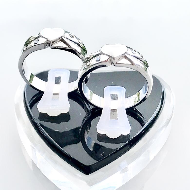 Nhẫn đôi bạc ND1086