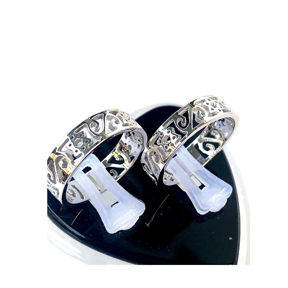 Nhẫn đôi bạc ND1050