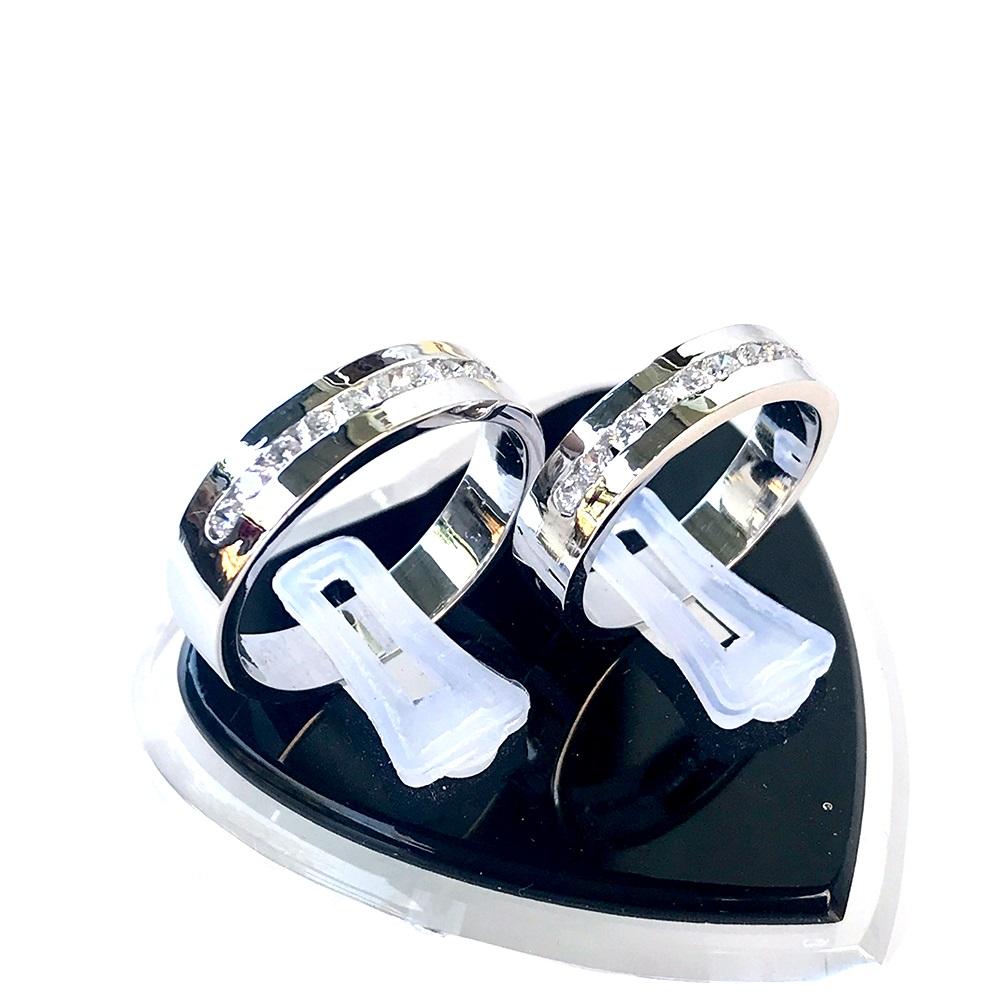 Nhẫn đôi bạc ND1053