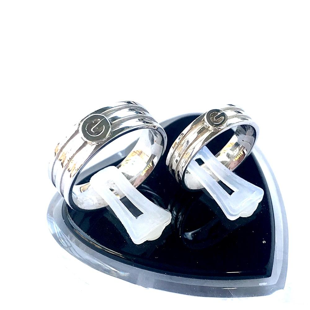 Nhẫn đôi bạc Nd1055
