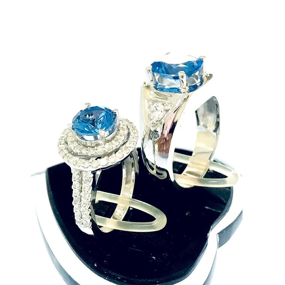 Nhẫn đôi bạc ND1060