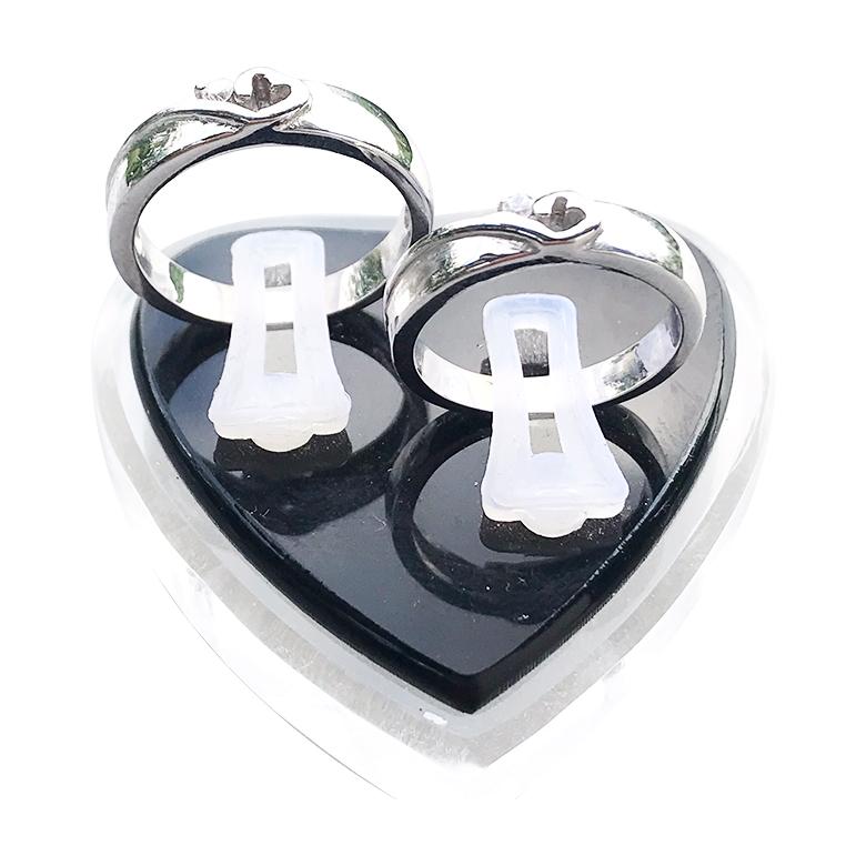 Nhẫn đôi bạc ND1061