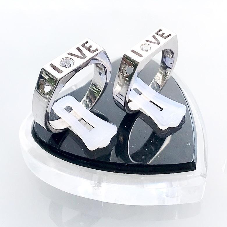 Nhẫn đôi bạc ND1088